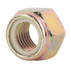Nylock Nuts Grade 8 - Yellow Zinc