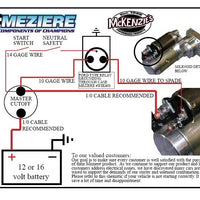 Meziere Starter TS586 (Type 1 Mounting)