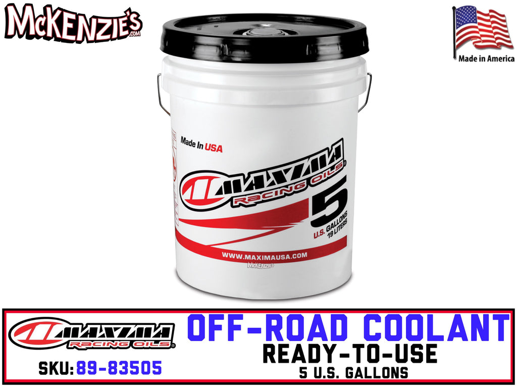 Off-Road Coolant | 5 Gallon | Maxima 89-83505