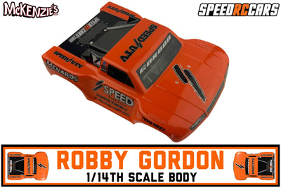 Speed RC Car Body Only | Robby Gordon