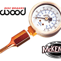 Wilwood 260-0966 | Brake Pressure Gauge