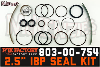 Fox 803-00-754 | 2.5 Internal Bypass Viton Seal Kit | Factory Series