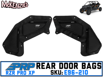 Rear Door Bags w/Knee Pad | RZR Pro XP | PRP E96-210