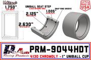 "PRM-9044HDT | 1"" Uniball Cup"