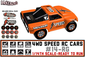 Robby Gordon Speed RC Cars