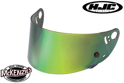 HJC HJ-08 Helmet Shield - R.S.T. GREEN