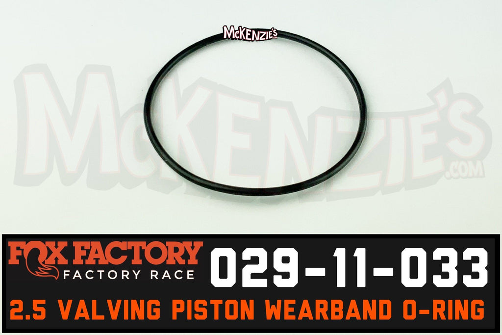 Fox 029-11-033 2.5 Piston oring