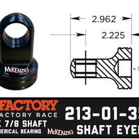 Fox 213-01-350A Shaft eyelet