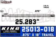 "King 25013-018 | 2.5"" x 7/8 Shaft"