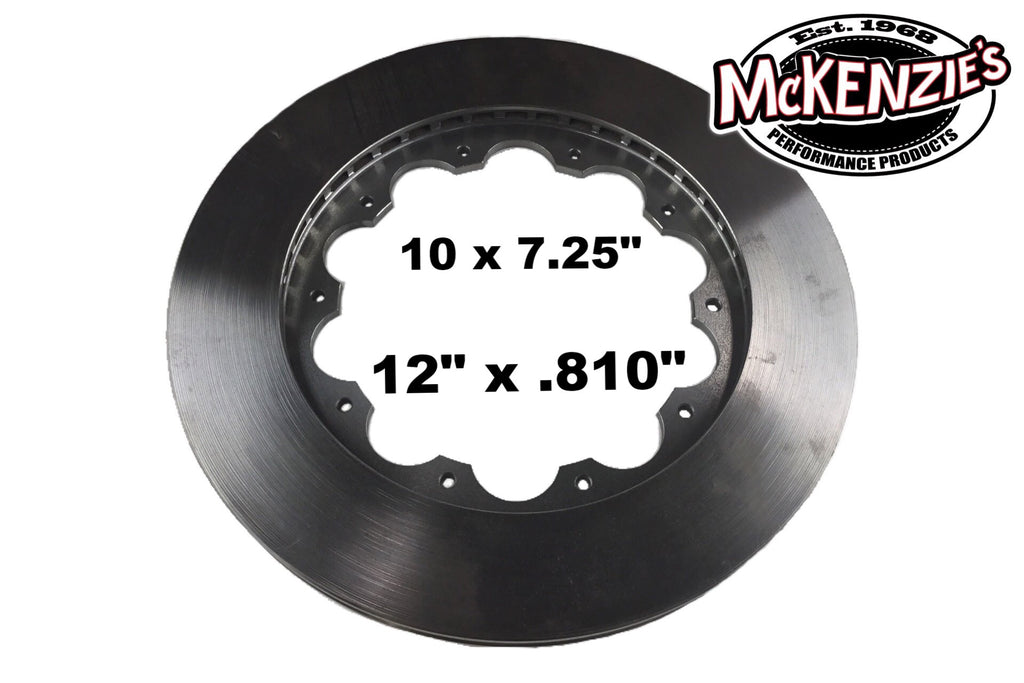 Outboard Hub Rotor 12 Quot X 810 Quot 10 X 7 25 Quot Pattern