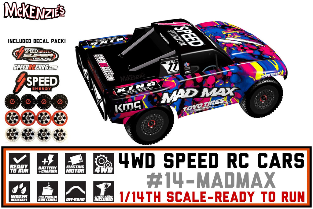 Mad Max Speed RC Car