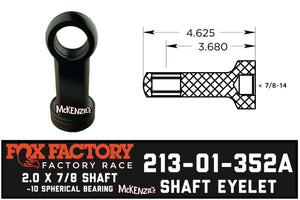 Fox 213-01-352A Shaft eyelet