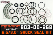 "Fox 803-00-268 | 2.5 & 3.0 Shock x .875"" Shaft Viton Seal Kit 