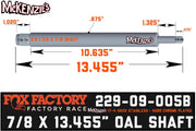 "Fox 229-09-005B | 2.5 x 8"" Travel Shaft 