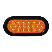 Oval Led Light - Amber