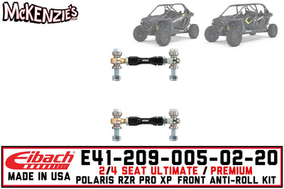 Eibach E41-209-005-02-20 | Front Adjustable End-link Kit | Polaris RZR PRO XP 2/4 Seat
