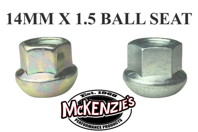 14MM X 1.5 Ball Seat Lug Nuts - Open End (2 Options)