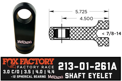 Fox Shaft Eyelet 213-01-261A