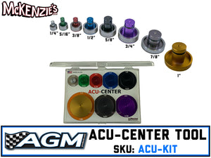Acu-Center Tool | 8-Piece Kit | AGM ACU-KIT