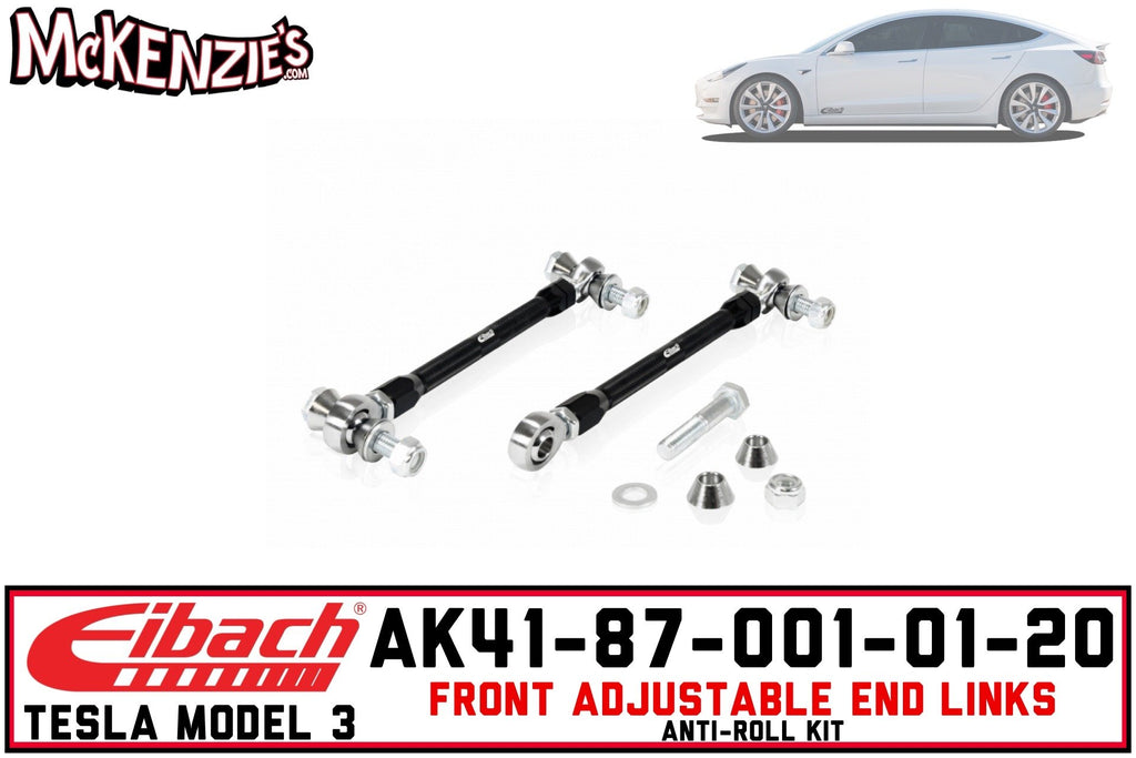 Eibach AK41-87-001-01-20 | Front Adjustable End Link System | Tesla Model 3
