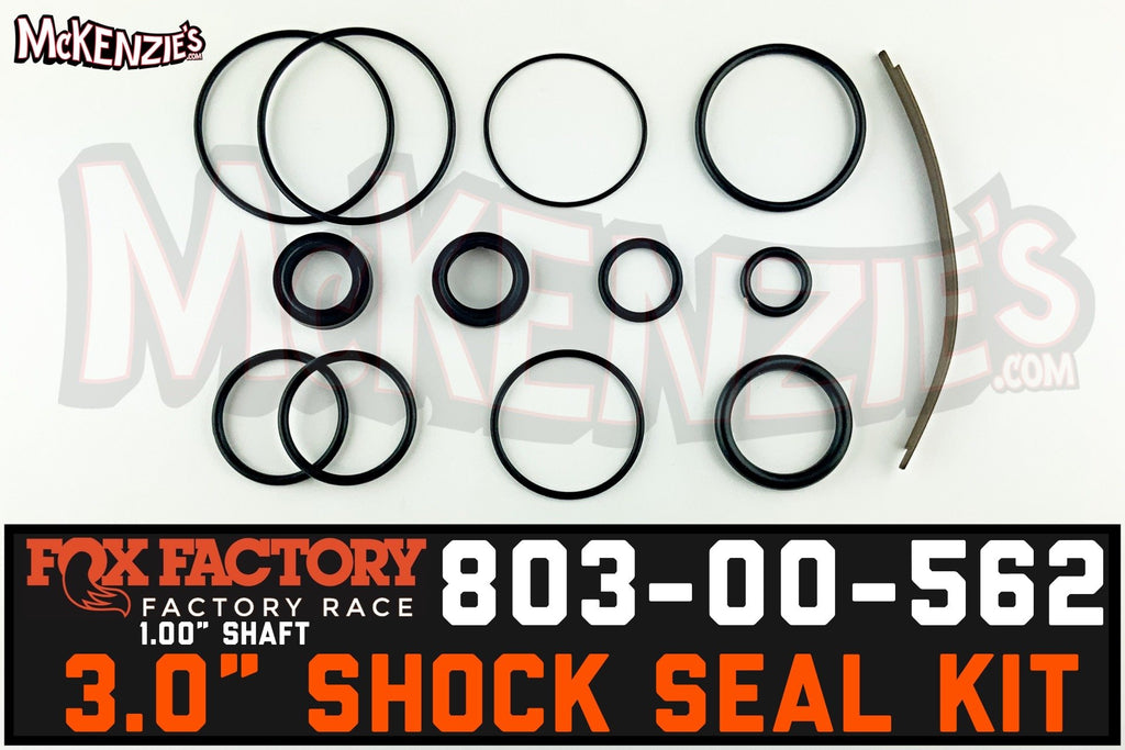 "Fox 803-00-562 | 3.0 Shock x 1.00"" Shaft Viton Seal Kit 