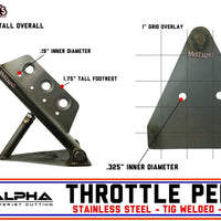 P0012 Alpha Throttle Pedal - 2 Bolt