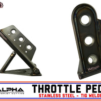 Alpha SS Throttle Pedal | USA Made | Tig Welded