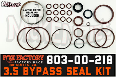 Fox 803-00-218 Seal Kit | 3.5 Bypass | Factory Series