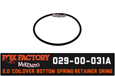 Fox 029-00-031A Spring Retainer O-Ring