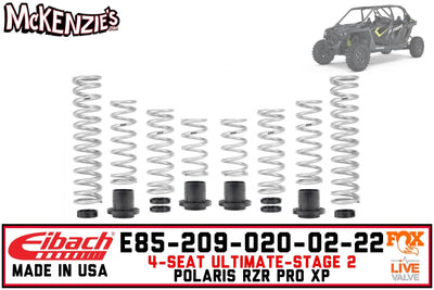 Eibach E85-209-020-02-22 | Pro-UTV Stage-2 Spring Kit | Polaris RZR PRO XP 4 Ultimate