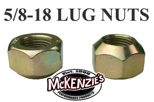 5/8-18 Lug Nut - 45 Degree Taper