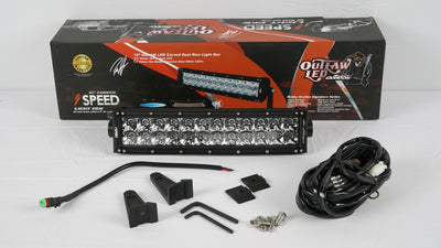 Outlaw LED Curved OSRAM Light Bars