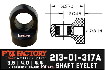 Fox Shaft Eyelet 213-01-317A