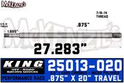 "King 25013-020 | 2.5"" x 7/8 Shaft"