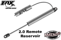 FOX 2.0 Factory Race Series Smooth Body Remote (7 Travel Options)