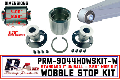 Wobble Stop Kit | 9044HDWSKIT-W