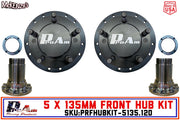 ProAm 5 on 135mm Front Prerunner Truck Hubs | 12-Bolt DANA Snouts | IronMan Series