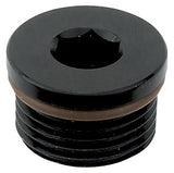 Internal Hex O-Ring AN Port Plug - XRP (8 Size Options)