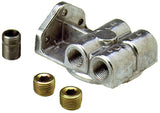 "Perma-Cool Single Filter Mount 1791, 1/2"" NPT Ports L&R, 3/4""-16 Thread"