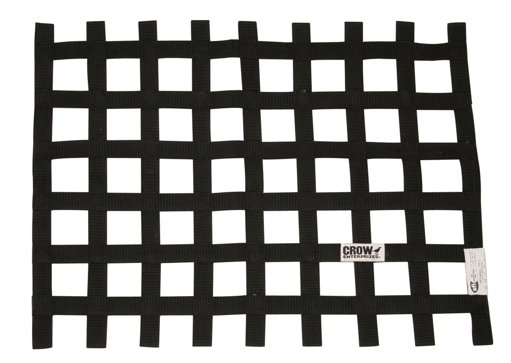Ribbon Style Window Nets - SFI - Crow Enterprizes (2 Size Options)