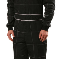 Crow Quilted MultiLayer Nomex® 1- Piece Suit SFI 3.3/5