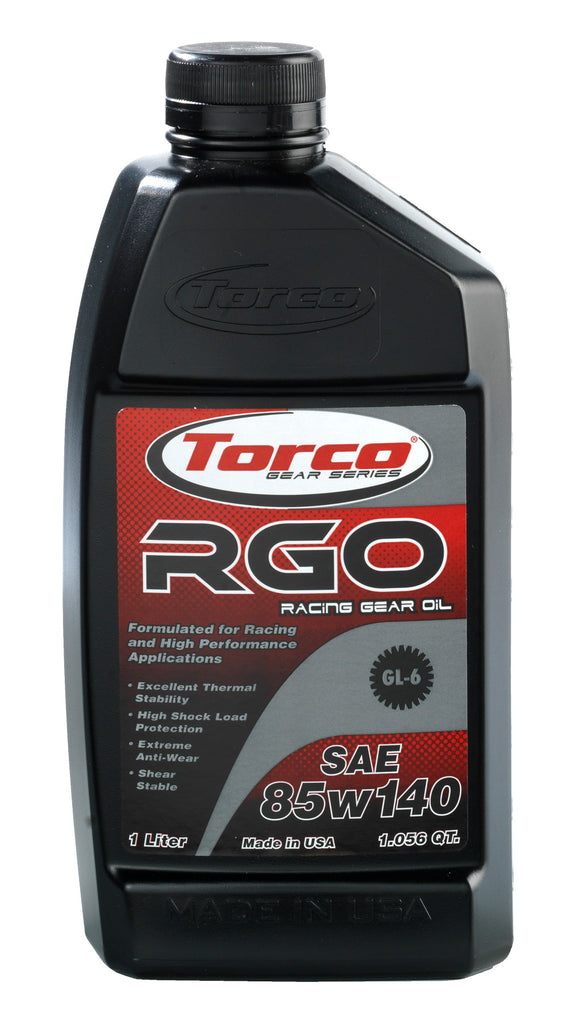 RGO 85W140 Gear Oil - Torco Racing