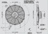 Spal 30102030 Pusher Fan VA10-AP70/LL-61S