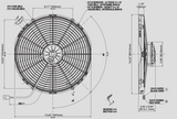 Spal 30102047 Pusher Fan VA18-AP70/LL-86S