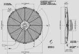 Spal 30102048 Pusher Fan VA18-AP71/LL-42S