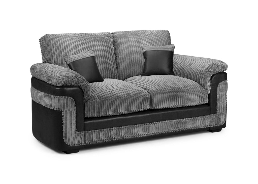 Dakota 2 Seater Sofa With Metal Action Sofabed The