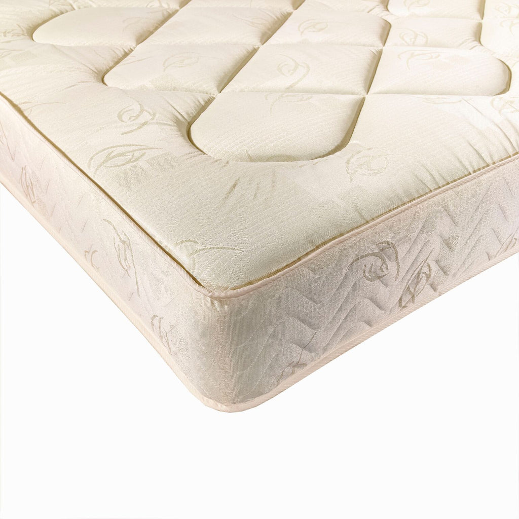 York 4 foot small double divan mattress the furniture for Small double divan with mattress