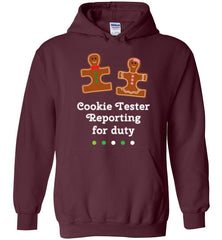 Christmas Holiday Ginger Puzzle Cookie Hoodie