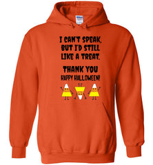 Nonverbal Halloween Autism Trick or Treat Hoodie
