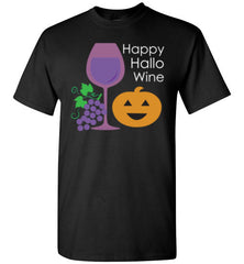 Happy Hallo Wine Halloween Shirt